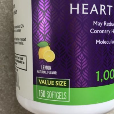 Natrol - Omega3 lemon flavor iHerbで買ったオメガ3