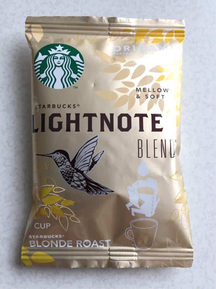 スタバ オリガミ Lightnote blend