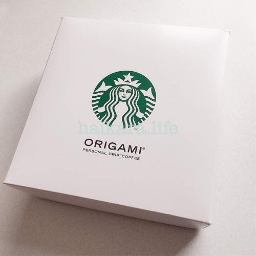 Starbucks origami スタバ オリガミ ギフトセット
