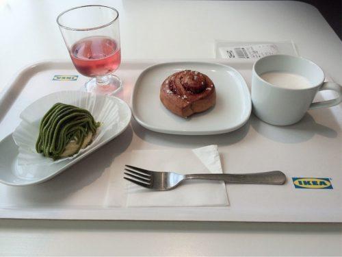 IKEAレストラン シナモンロール ノルディック・ウォーター