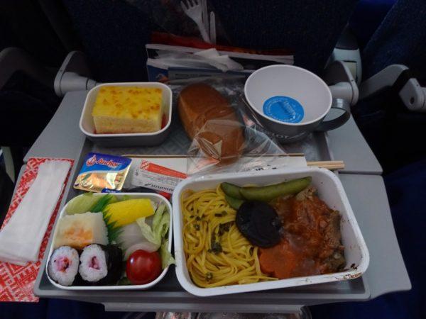 エアロフロート機内食