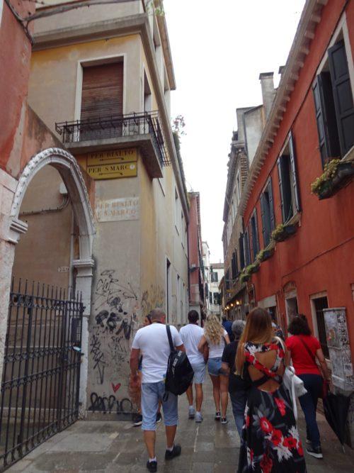 ベネチア散策
