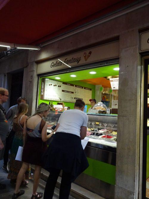 gelato fantasy ベネチア