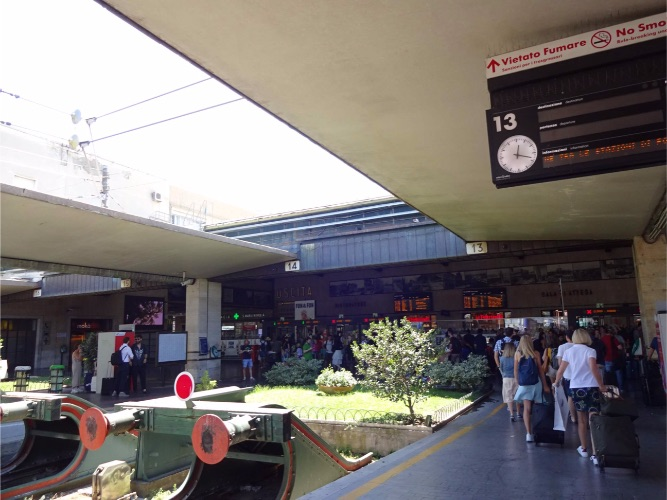 Firenze, Santa Maria Novella station フィレンツェ サンタマリアノヴェッラ駅