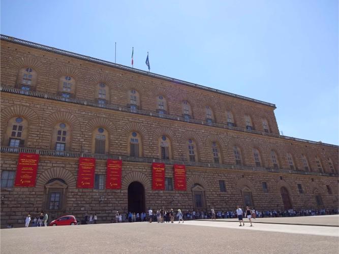 フィレンツェ ピッティ宮殿