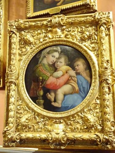 フィレンツェ パラティーナ美術館、ラファエロ作品
