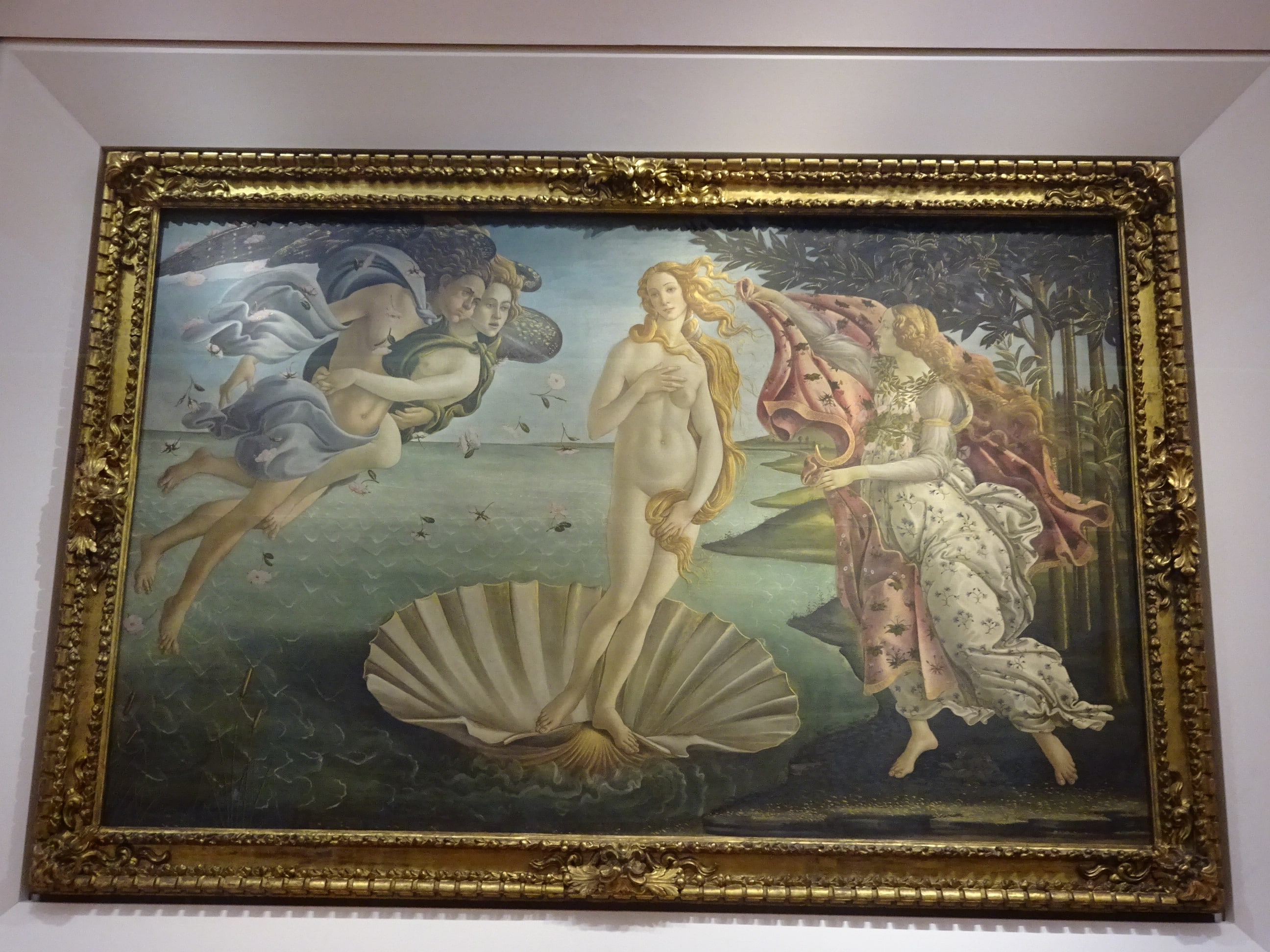 ウッフィツィ美術館 ヴィーナスの誕生