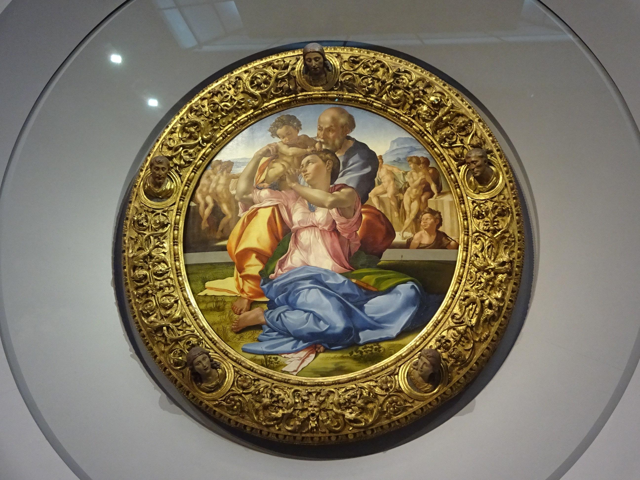 ウッフィツィ美術館 ラファエロ
