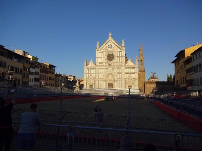 フィレンツェ サンタクローチェ教会 聖ジョヴァンニの日