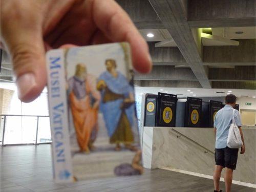 ローマ バチカン博物館 入場券