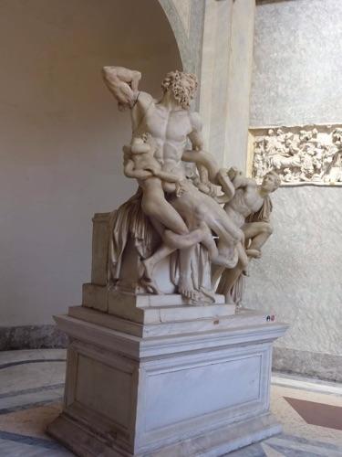 バチカン博物館 ラオコーン