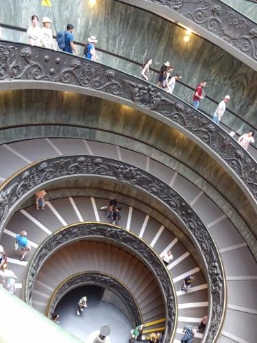 バチカン博物館 螺旋階段
