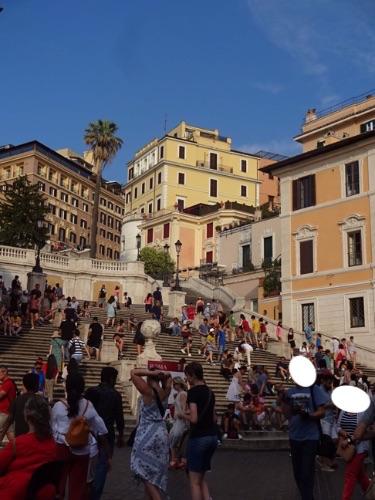 ローマ、スペイン階段
