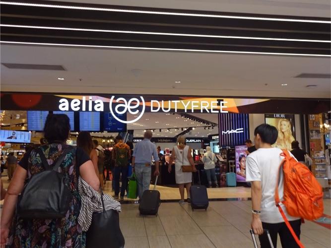 ローマ フィウミチーノ空港 免税店
