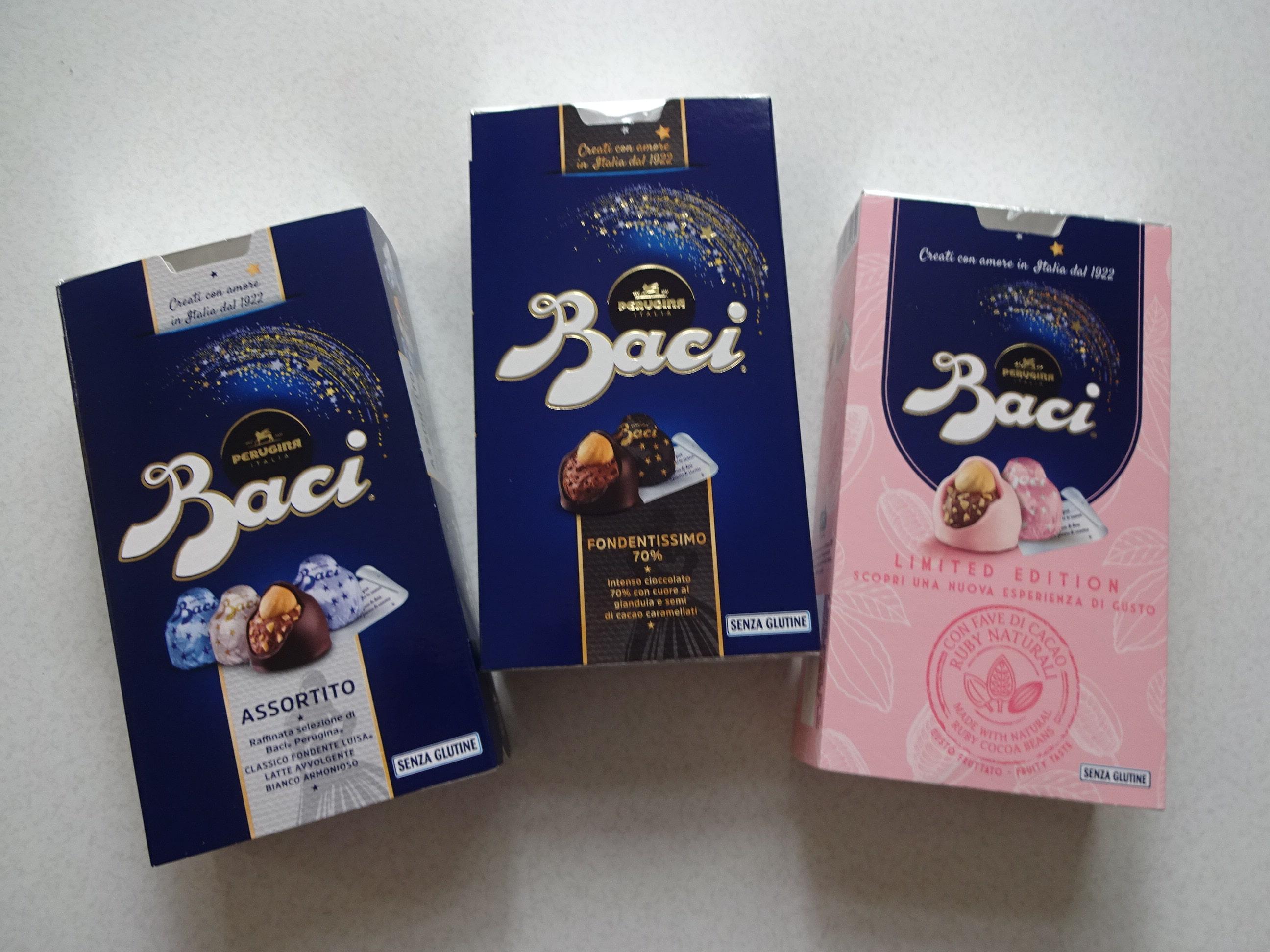 ピンクのBaci、ルビーチョコレート