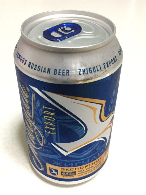 モスクワ空港で買ったロシアンビール