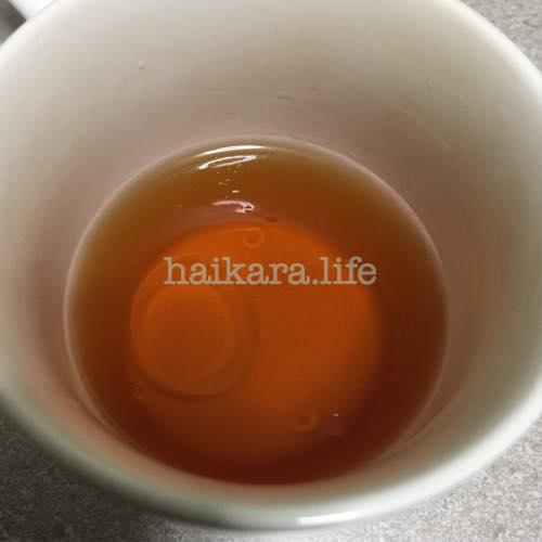 MCTオイルを紅茶に入れてみた