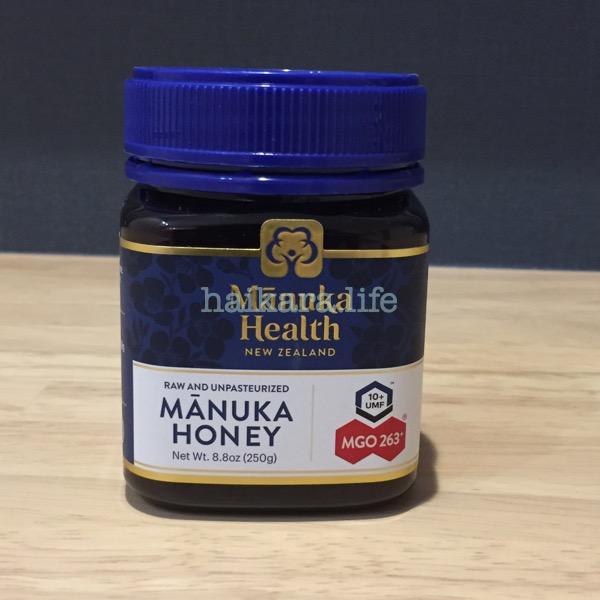 Manuka healthのマヌカハニー MGO263+