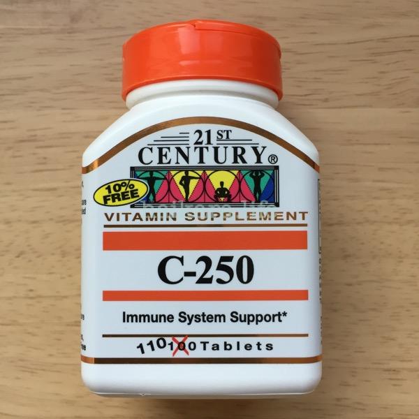 iHerbでビタミンCサプリメントを買ってみた
