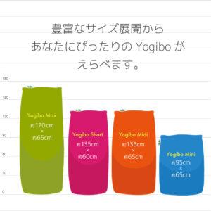 Yogiboサイズ比較
