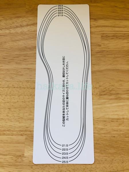 ダイソーの珪藻土インソール 100円で買える!
