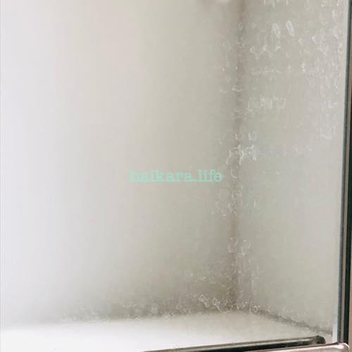 ダイソーのウロコ取り お風呂の鏡の水アカがスッキリ!