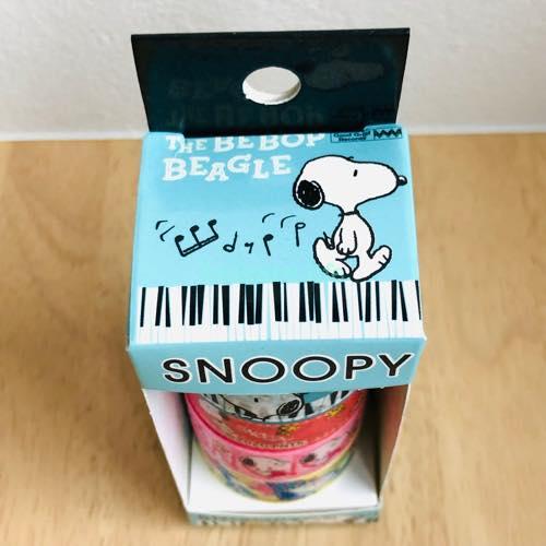 イルーシーでスヌーピーのマステを購入!4個セットで330円